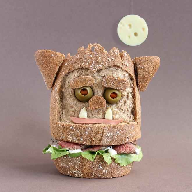 монстр из еды