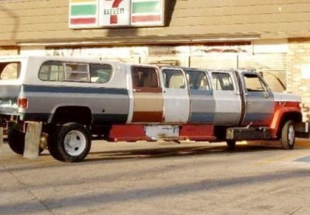 самодельный лимузин