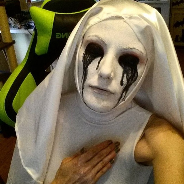 монахиня хэллоуин