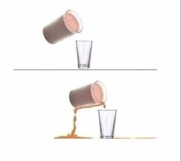 рисунок стаканов