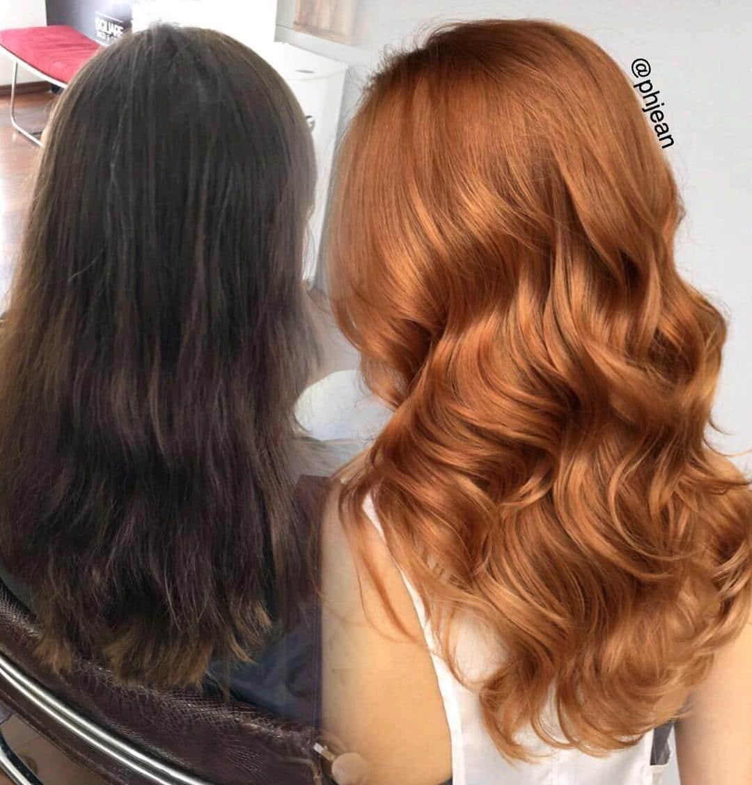 преображение волос