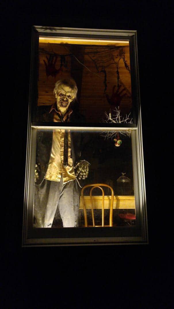 страх в окне