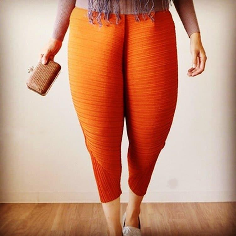 смешные оранжевые штаны