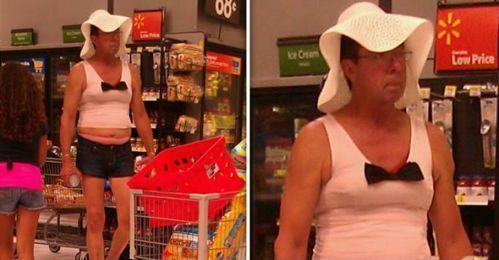 странный человек в шляпе