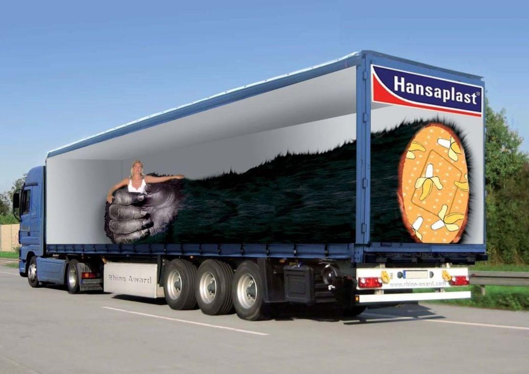 необычный дизайн грузовика