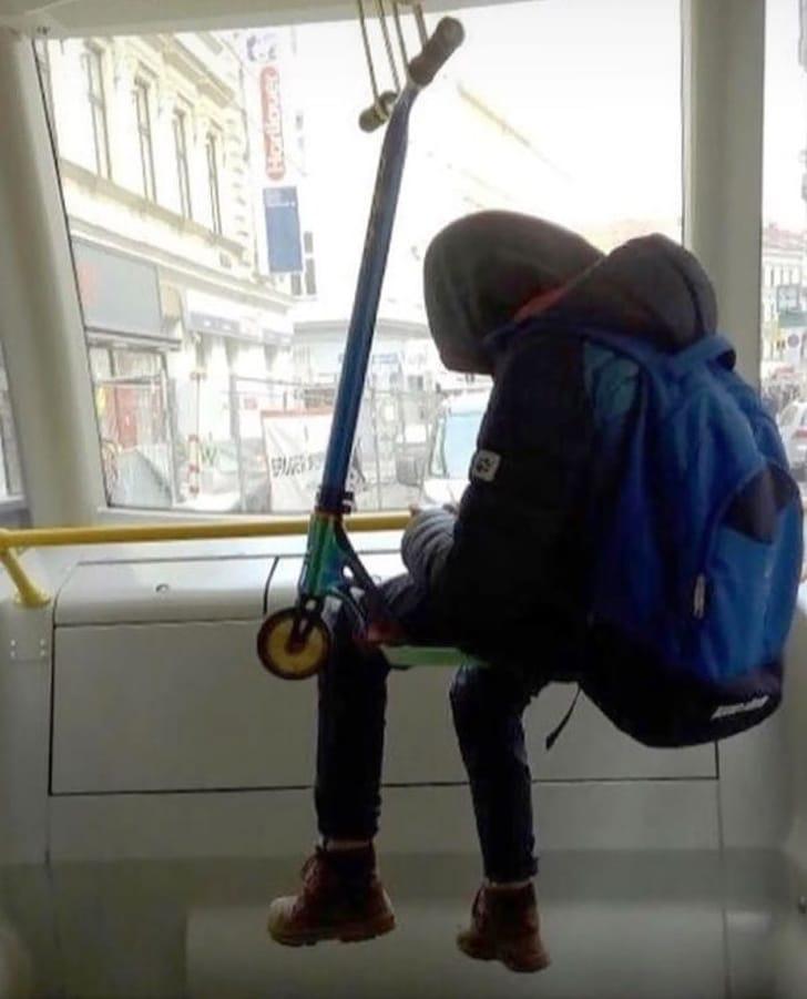место в автобусе
