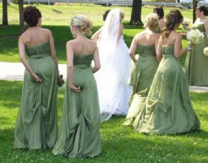 платье подружек невесты