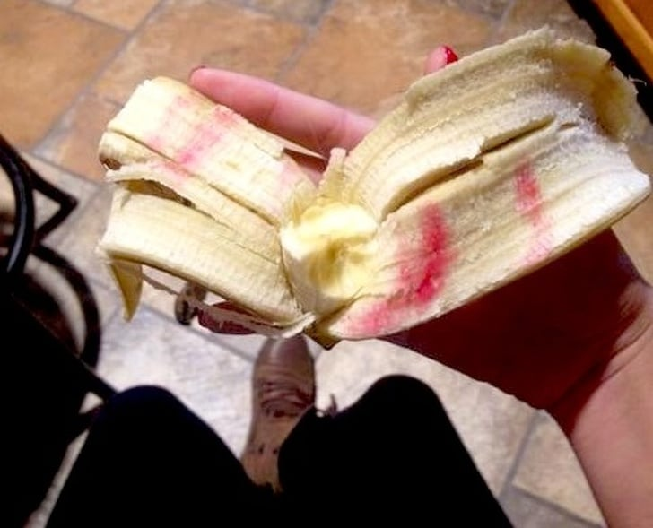 банан в помаде