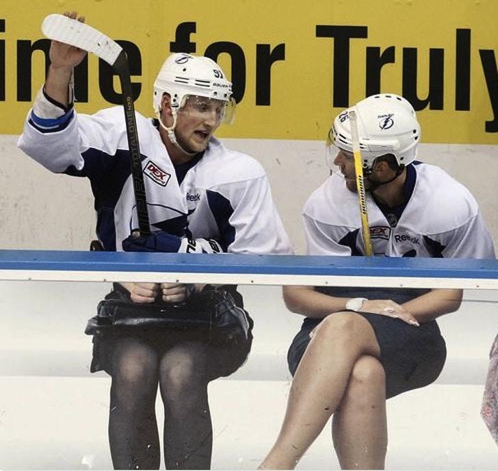 смешные хоккеисты