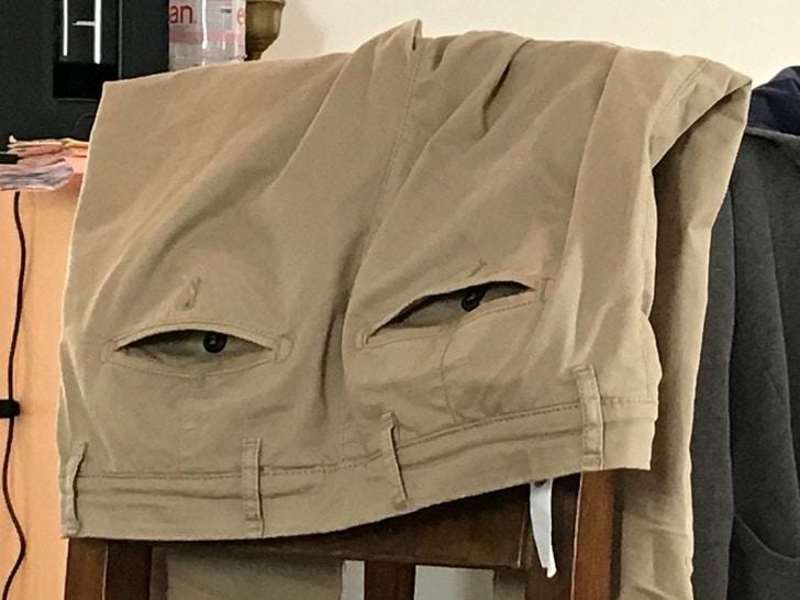карманы на штанах