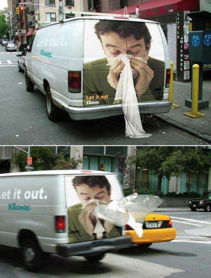 реклама салфеток