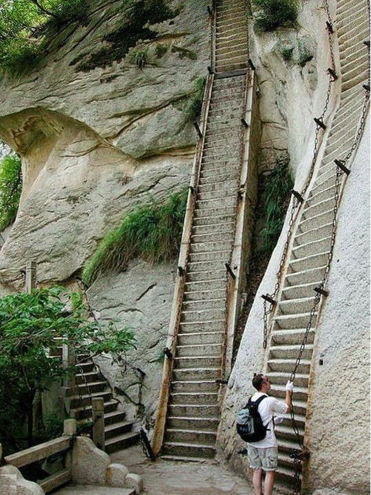 вертикальная лестница