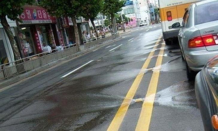 мытье дорог