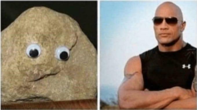 камень и дуэйн джонсон