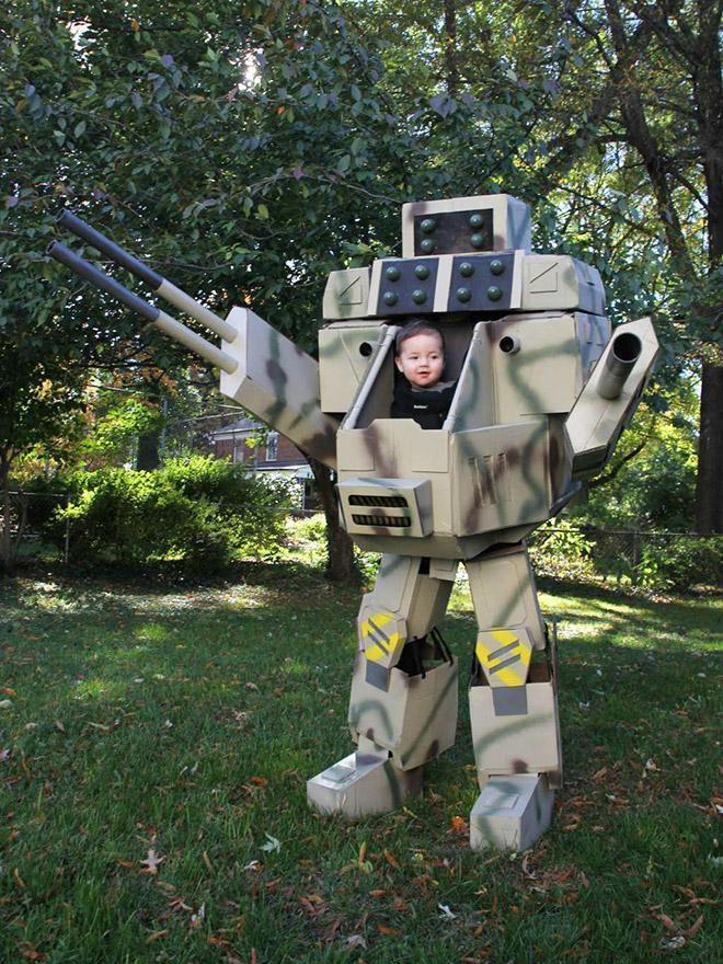 костюм робота на Хэллоуин