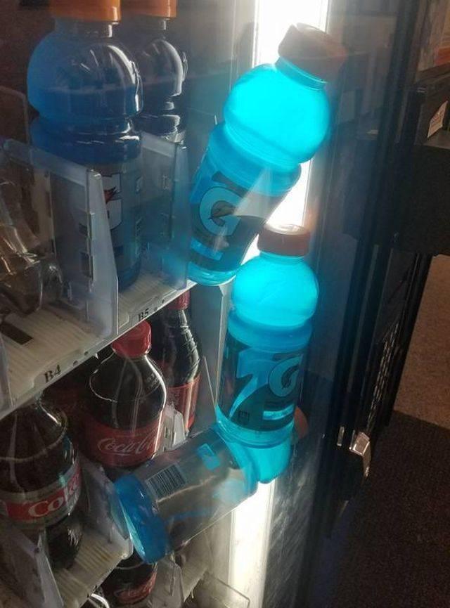 вода в автомате