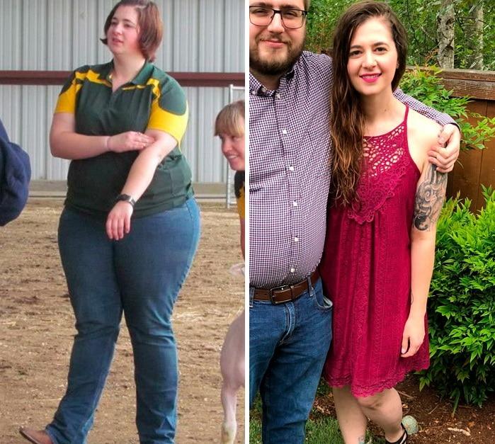 полная девушка и худая девушка с парнем