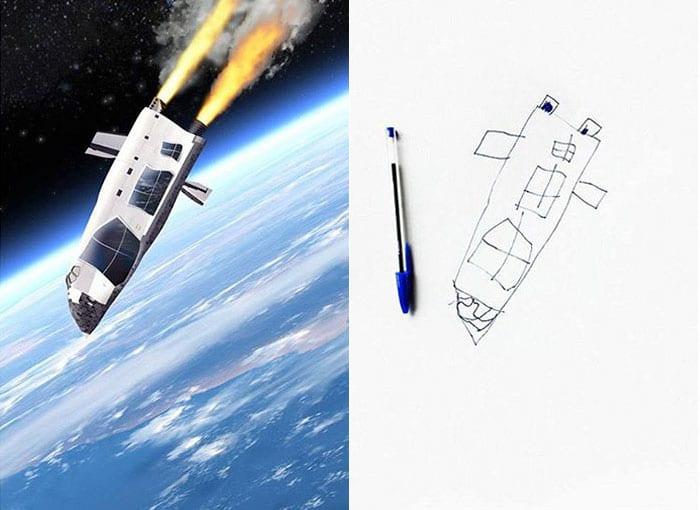 рисунок ракеты