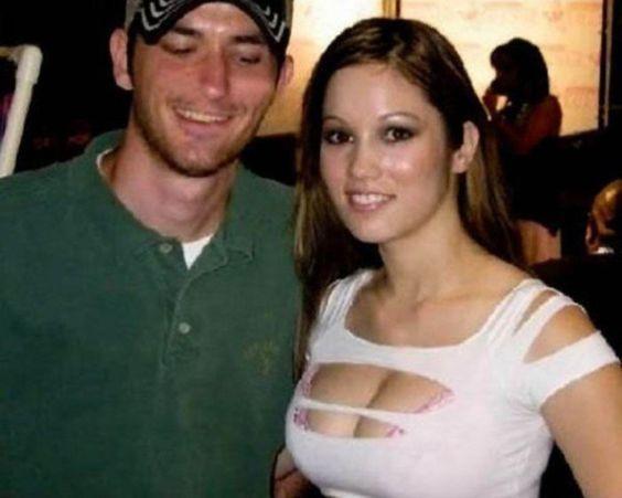 парень и девушка с большой грудью