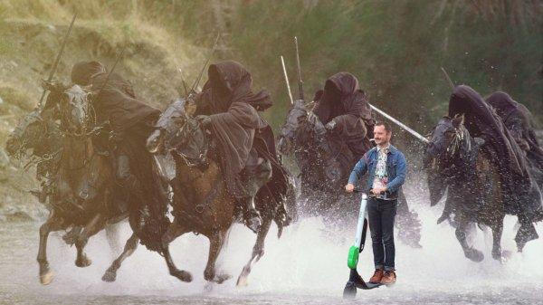всадники с мечами
