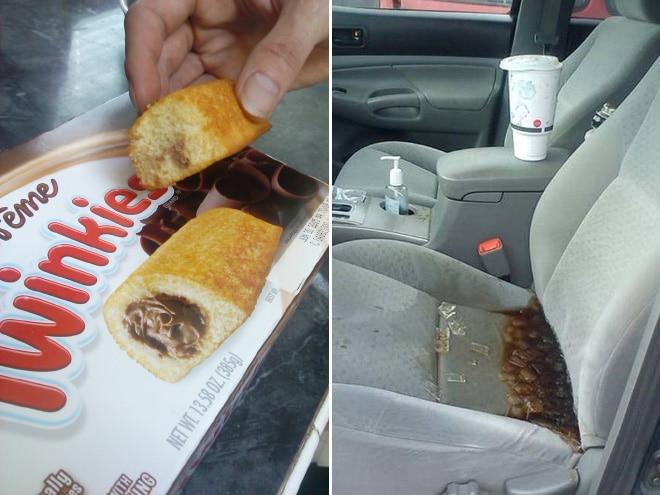 неудача с едой