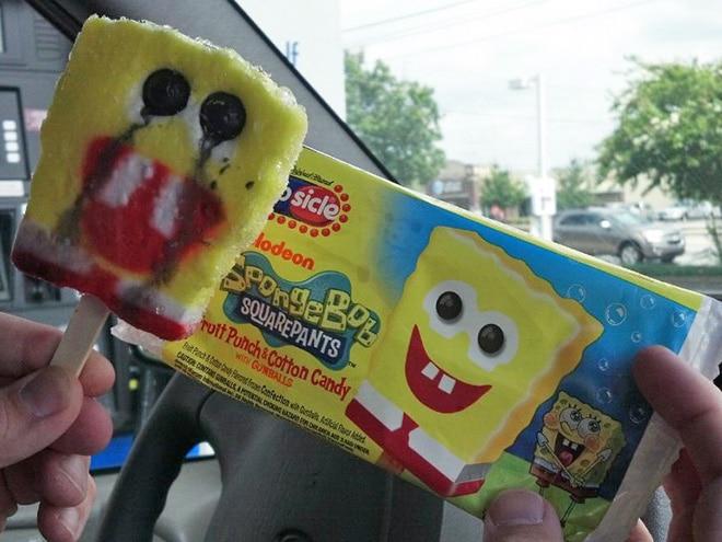 неудачное мороженое
