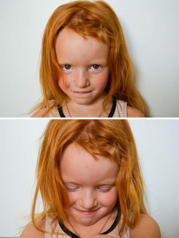 девочка с рыжими волосами