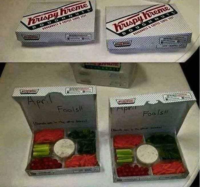 коробка с едой