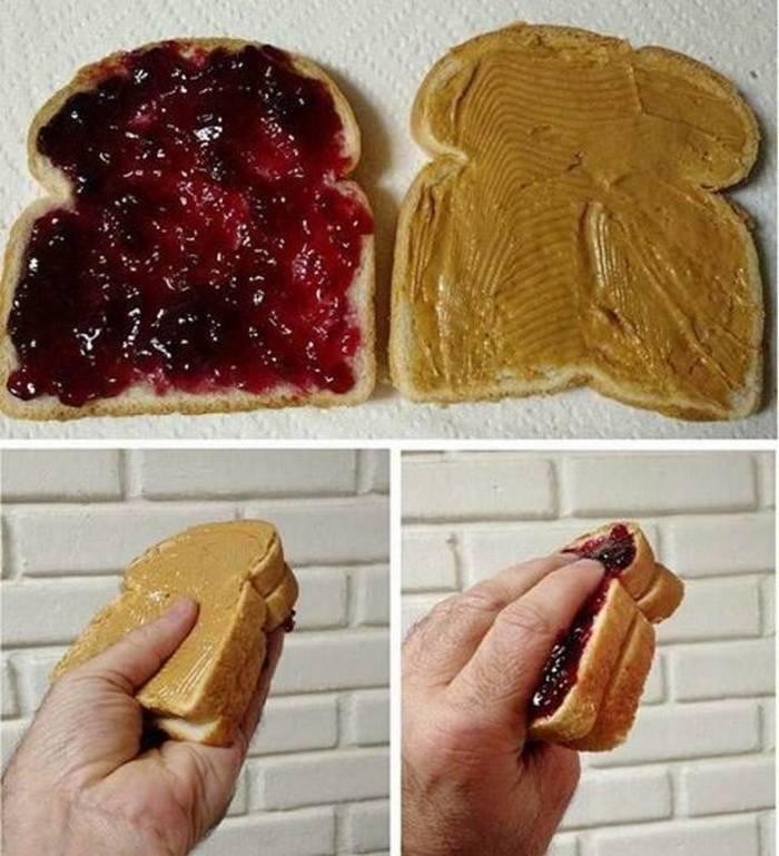 бутерброд с вареньем