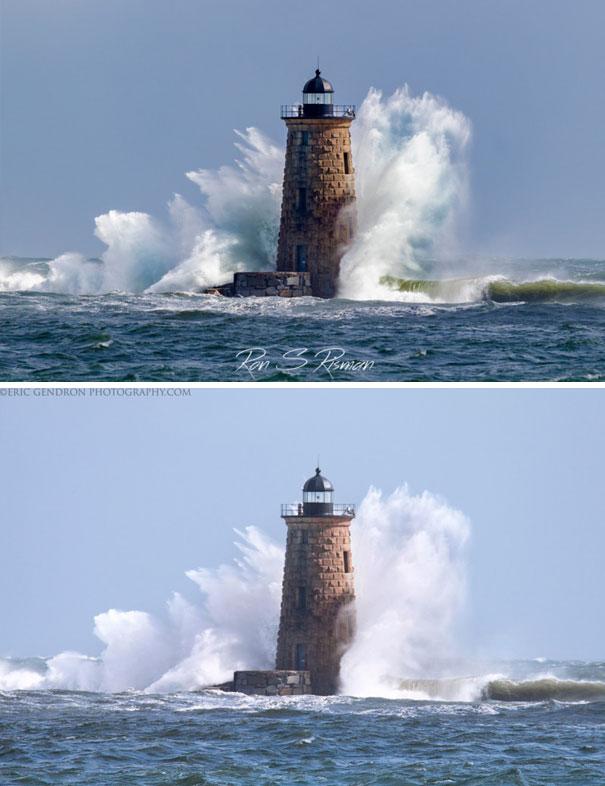 фото маяка разных фотографов