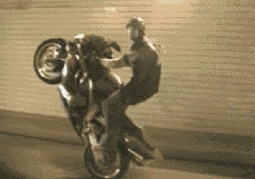 мотоциклист попал под машину