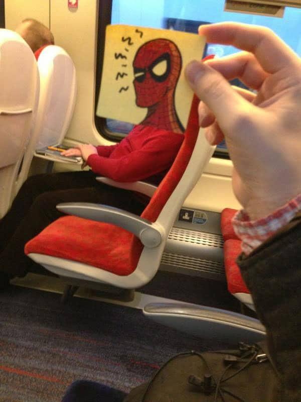 картинка с человеком-пауком
