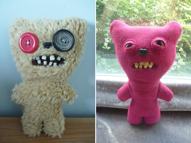 плюшевые игрушки с зубами