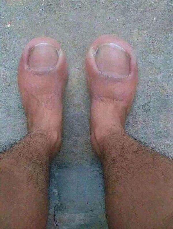 ноги фотошоп