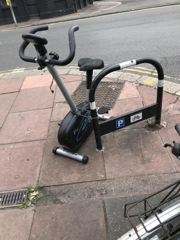 велотренажер на улице