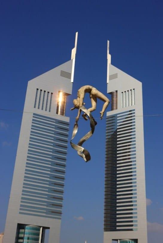 скульптура гимнастки