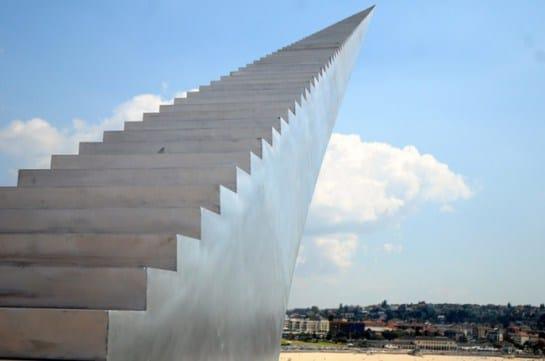скульптура лестницы в австралии