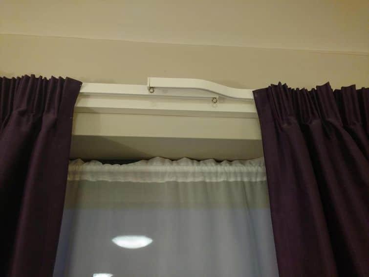 шторы в отеле