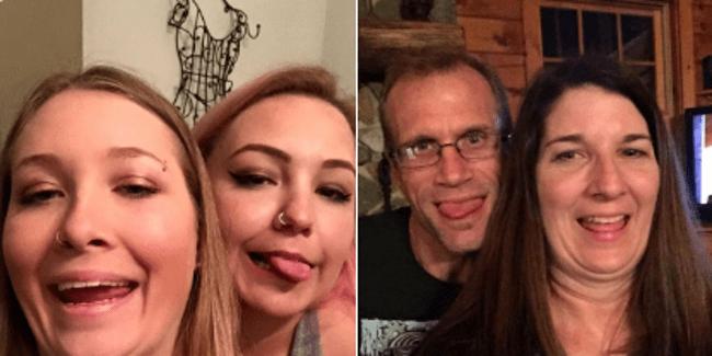 дочки и родители