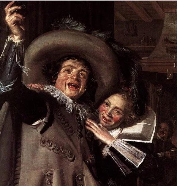 мужчина и женщина с картины