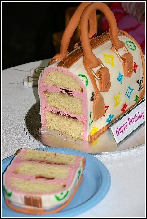 торт в виде женской сумочки