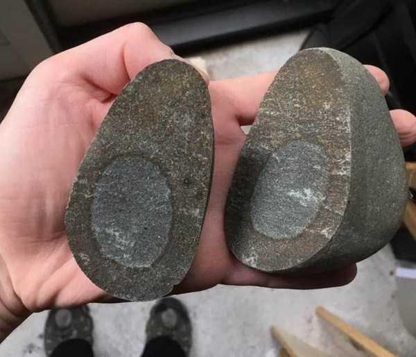 камень похожий на авокадо