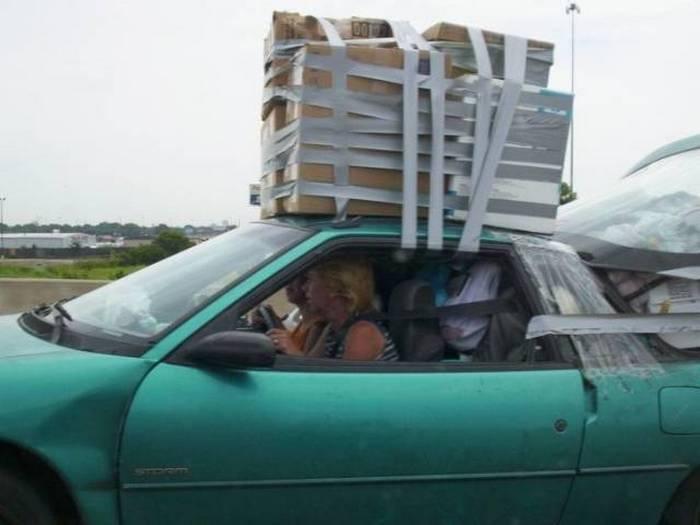 автомобиль и изолента