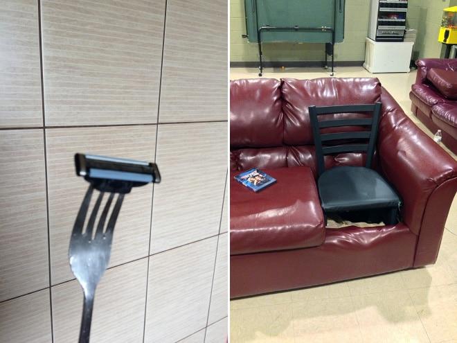 вилка и стул