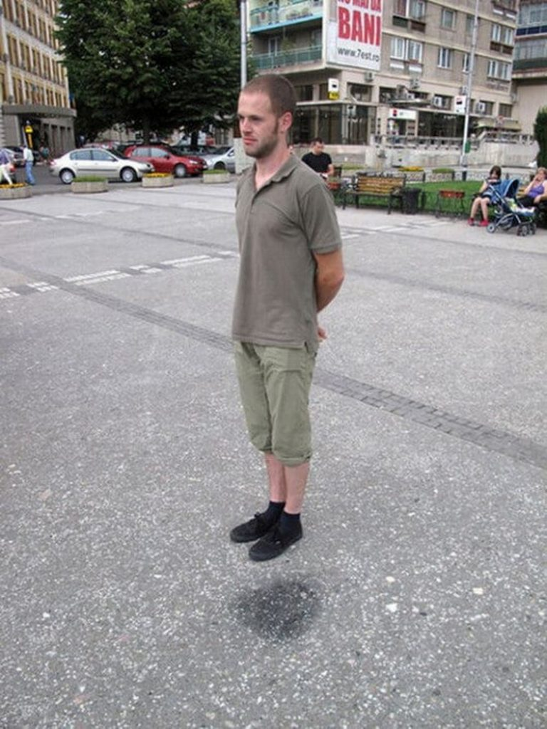парень на улице