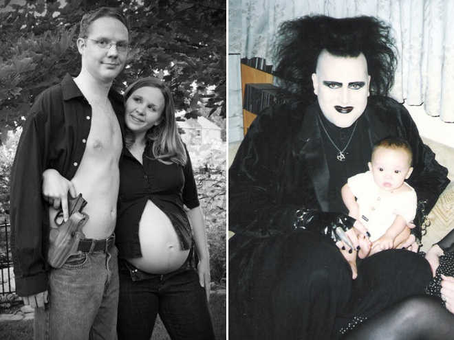 фото дочек с папами