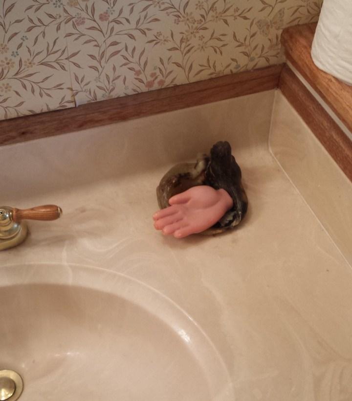 мыло в виде руки