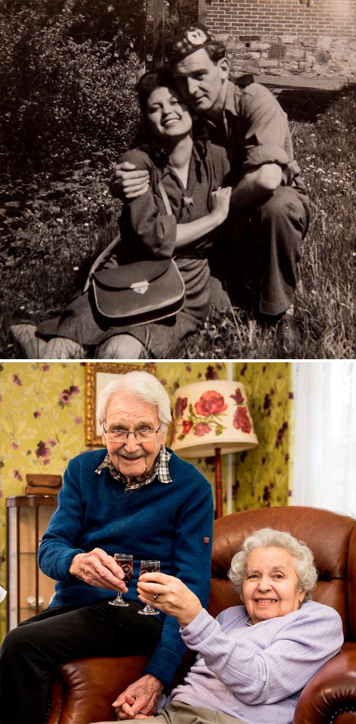 пара в молодости и пара в старости