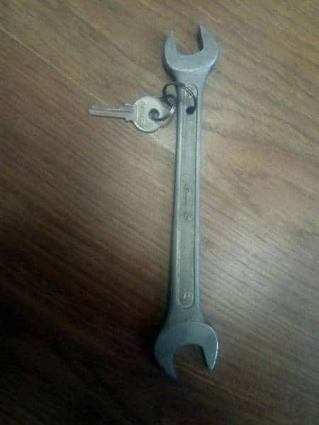 ключ с ключом