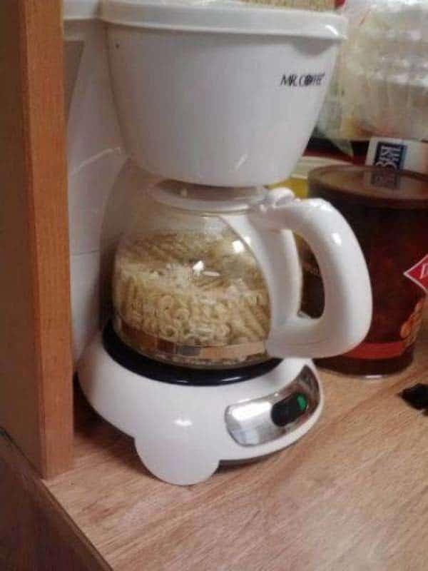 мивина в кофеварке